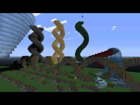 Super Spiral Generator Worldedit Scripts Minecraft Mod
