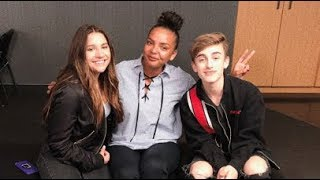 Johnny Orlando & Mackenzie Ziegler Remix Their Song While Playing The 'What If' Game