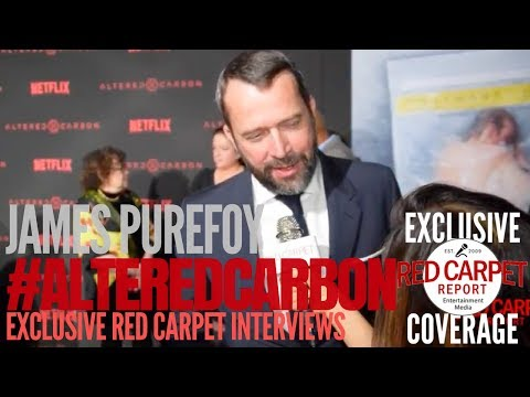 James Purefoy interviewed at Premiere of Netflix's #AlteredCarbon #NowStreaming #AltCarb
