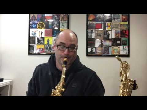 Infinitesimal for alto sax by Mark Buller