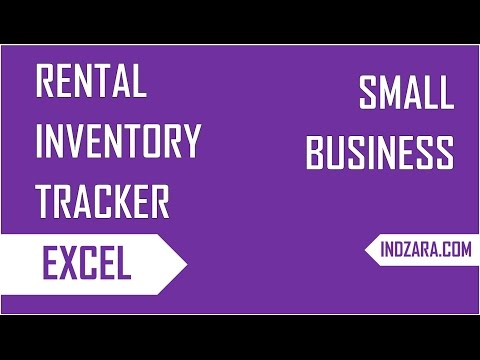 , title : 'How to track inventory of rented Items  - Rental Inventory Tracker - Excel Template