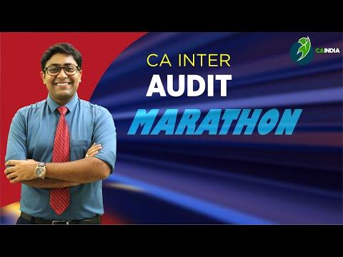 AUDIT MARATHON FOR MAY 2021 & NOV 21 EXAM BY CA KAPIL GOYAL | CA INTER & IPCC AUDIT MARATHON