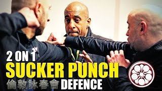 BEST [2 vs 1] SUCKER PUNCH Defence | How to Defend Yourself in a Fight