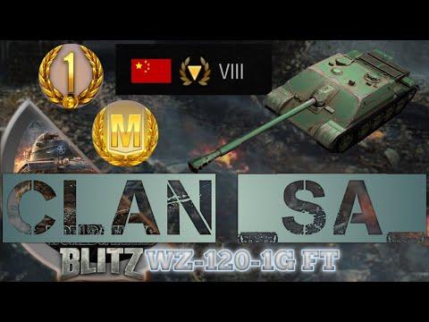 WZ-120-1G FT i Giveaway ! / SqubanyTV WoT Blitz - Squbany TV