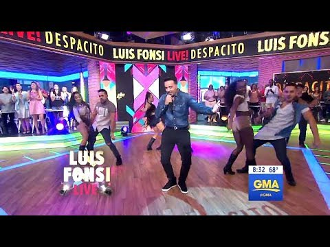 Luis Fonsi - Performs Despacito (GMA LIVE)