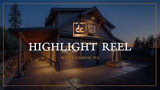 Custom Barn Home In White Salmon, WA | Highlight Reel