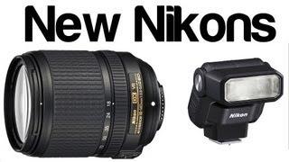 Nikon 18-140mm f3.5-5.6 & SB 300 flash - preview