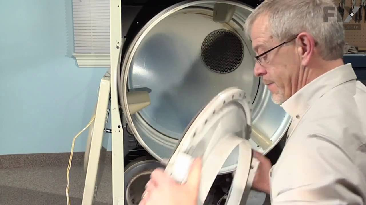 Replacing your Maytag Dryer Drum Roller Shaft Washer