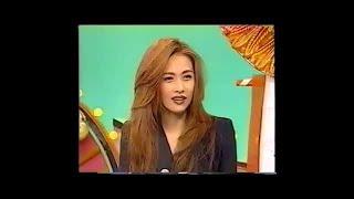 1995年工藤静香森口博子対談トーク