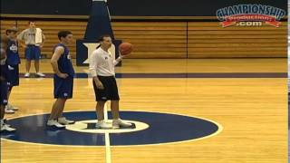 Open Practice: Shooting Drills with Mike Krzyzewski - dooclip.me