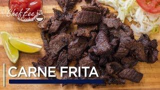 Carne Frita Dominicana | Fried Crispy Beef | Dominican Street Food | Chef Zee Cooks