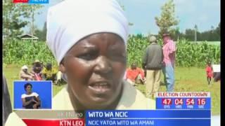 Mwenyekiti wa NCIC Francis Ole Kaparo awaonya wanasiasa kwa uchocheshaji katika kampeini zao
