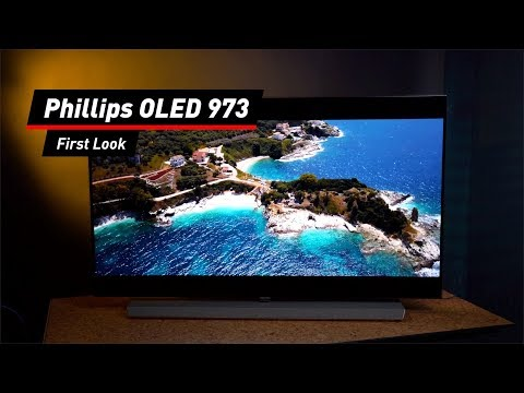 Philips OLED 973: Designer-OLED-TV im First Look