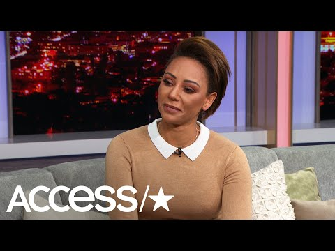 Mel B Gets 'Brutally Honest' About Alleged Abuse and How Simon Cowell May Have Saved Her Life | Access (видео)