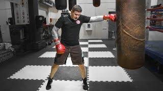 Как бить удар почтальона / Правильная техника для боксеров
