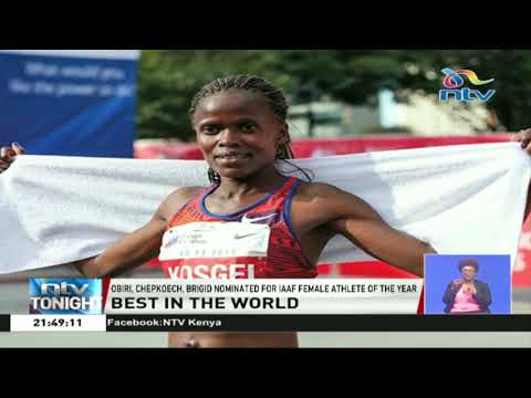 Obiri, Chepkoech, Brigid nominated for IAAF female athlete of the year