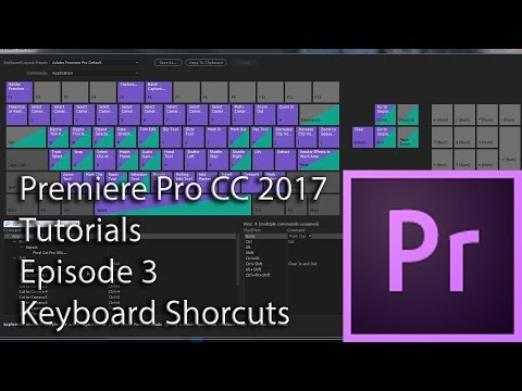 E3 - Keyboard Shortcuts - Adobe Premiere Pro CC 2017