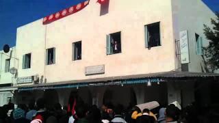 preview picture of video 'Salim Ben Hamidane - RCD dégage -  Djerba Houmt Souk - 24.01.2011'