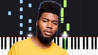 Khalid - Motion (Piano Tutorial)