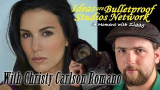 """""""A Moment with Ziggy"""" with Christy Carlson Romano"""