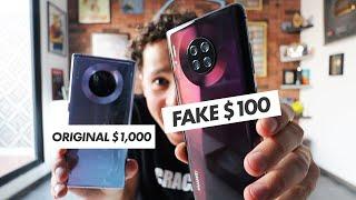 Compré un Huawei Mate 30 Pro FALSO | ¿Qué tan malo es? 😱