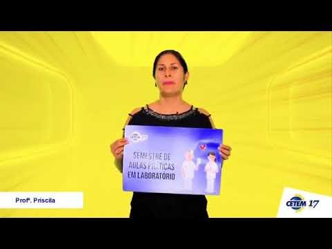 CETEM - Recado Professora Priscila