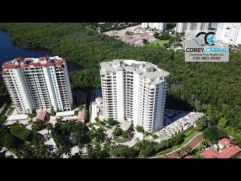 Bay Colony Salerno Naples Florida 360 degree fly over video