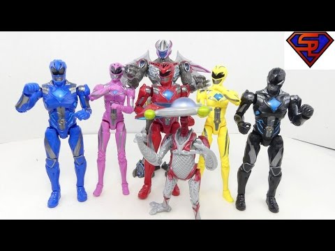 Power Rangers 2017 Movie Legacy Collection Toys R Us Exclusive Action Figures Review