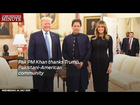 Pak PM Khan thanks Trump, Pakistani-American community