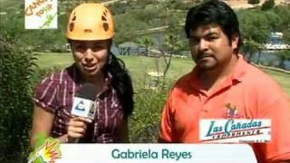 preview picture of video 'Las Cañadas Campamento - EL ÚNICO LUGAR FAMILIAR DE DIVERSIÓN CON TIERRA, AGUA Y AIRE.'