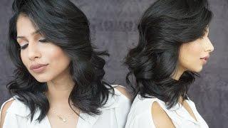 Soft Voluminous Curls For Medium Length Hair! Valentines Day Hair Tutorial!