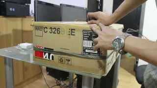 Unboxing NAD C 326BEE Stereo Amplifier