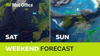 Weekend weather – Another very windy weekend with heavy rain at times. 07/02/19