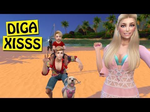 SESSÃO DE FOTOS EM FAMÍLIA - Barbie Fotógrafa #22 - The Sims 4 Moschino