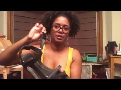 Teva Leather Wedge Heel