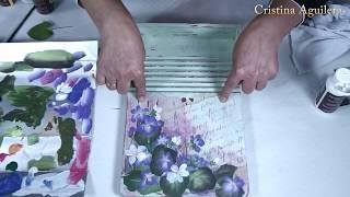 Pintando violetas