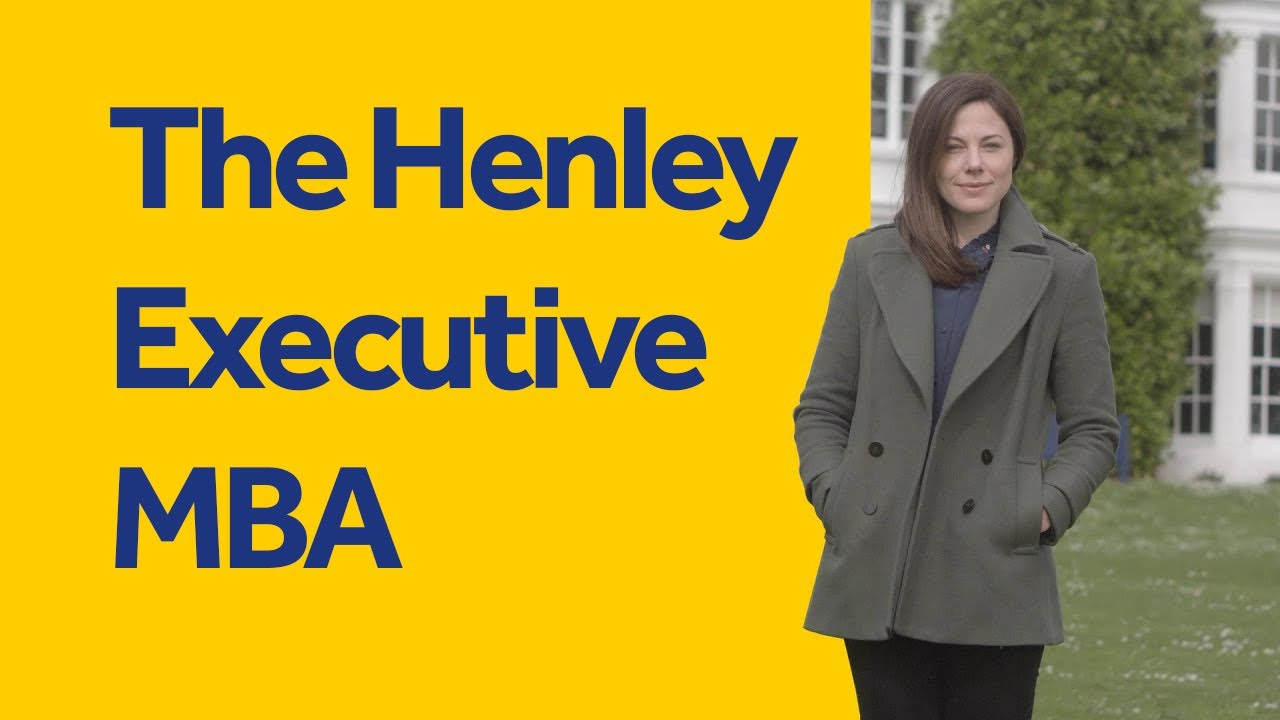 Why I chose Henley for my MBA