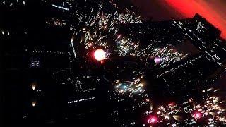 Посадка на большой город, метро и выставка кораблей! - Star Citizen