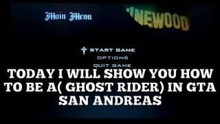 gta san andreas ghost rider mod controls - मुफ्त