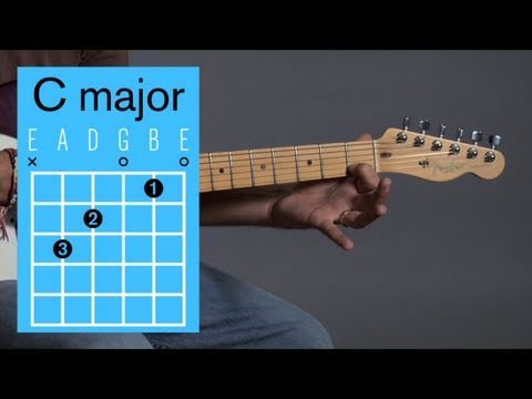 How to Play a C Major Open Chord   Guitar Lessons