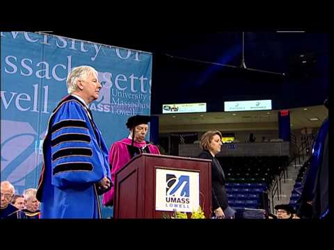 College of Sciences Doctoral Degrees - UMass Lowell 2013 Graduate Commencement (1:51)