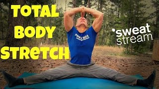 25 Minute Post Workout Stretch and Flexibility Routine w/ Sean Vigue by SweatStreamTV