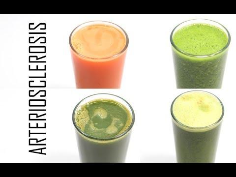 Prevención De La Arterioesclerosis Con 4 Jugos Naturales