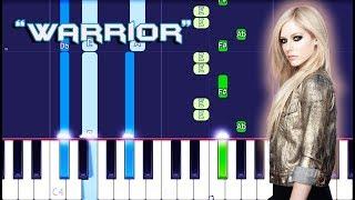 Avril Lavigne - Warrior Piano Tutorial EASY (Piano Cover)