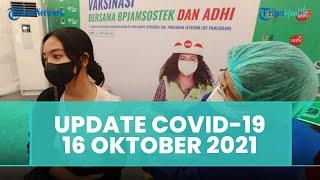 Update Covid-19 Indonesia 16 Oktober 2021: Kasus Tambah 997, Sembuh 1.525, Meninggal 44