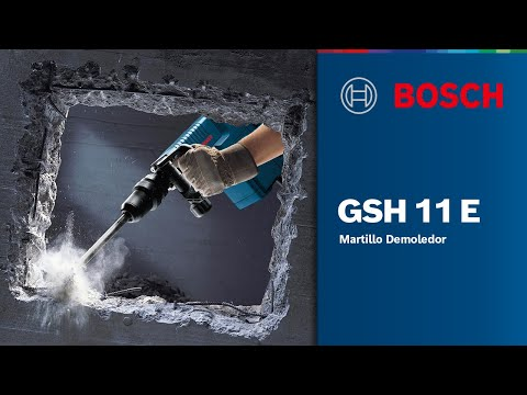 Martillo Demoledor GSH 11 E