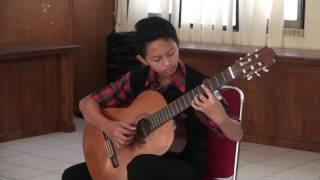 Juara 1 FLS2N Gitar Solo Kota Magelang