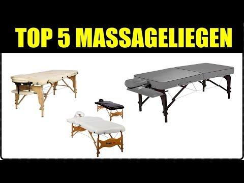 TOP 5 MASSAGELIEGEN ★ Massageliege Test ★ Relaxliege für Massagen ★ Massageliege günstig kaufen