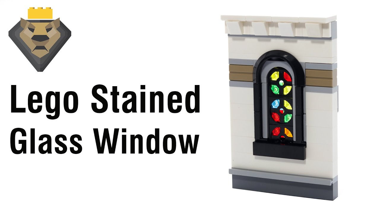 LEGO Stained Glass Window Tutorial