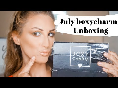 JULY BOXYCHARM UNBOXING 2019